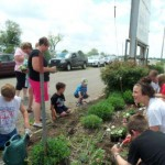 Planting at the Fairgrounds